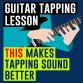 Guitar sustain technique video