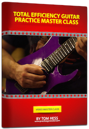 Tom Hess Total Efficiency Guitar Practice Master Class