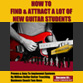 How To Attract A Lot Of New Guitar Students eCourse
