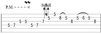 Improve Guitar Phrasing Example Variation Three Part One