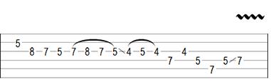 Improve Guitar Phrasing Example Variation Three Part Two