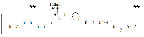 Improve Guitar Phrasing Example Variation Two