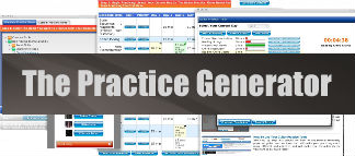 Get Started With The Practice Generator