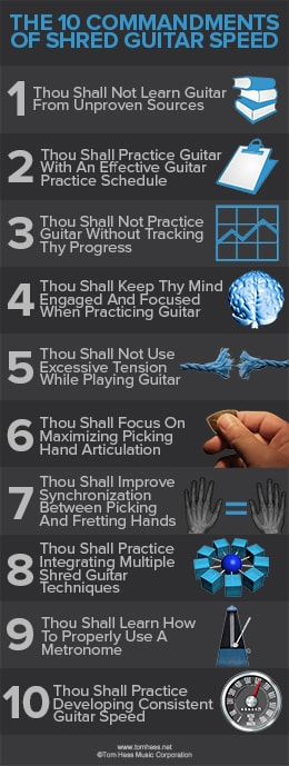 10 keys to fast guitar playing