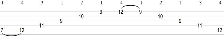 5 String Guitar Arpeggio