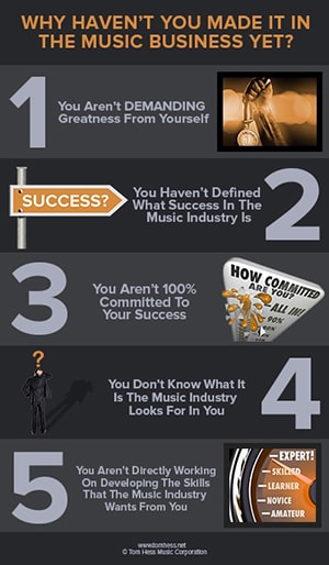How to become a professional musician.