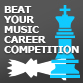 Beating your music career competitors