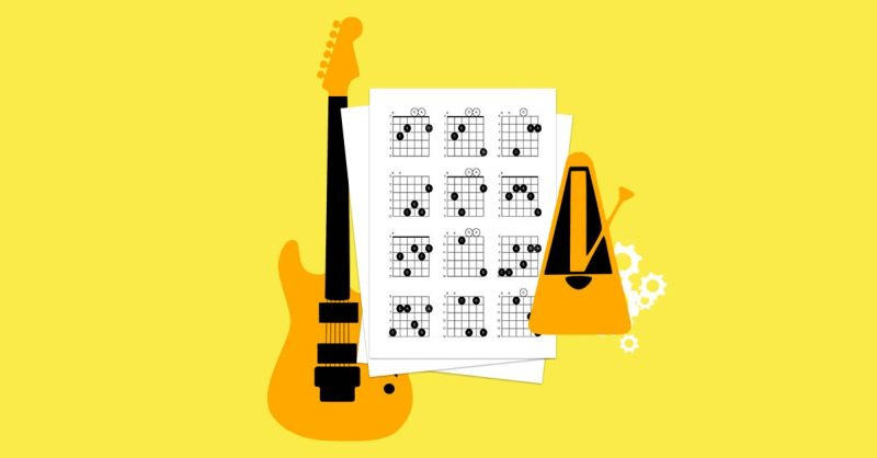 How to teach guitar chords to beginners