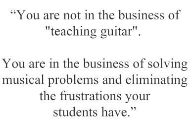 How To Teach Guitar Effectively