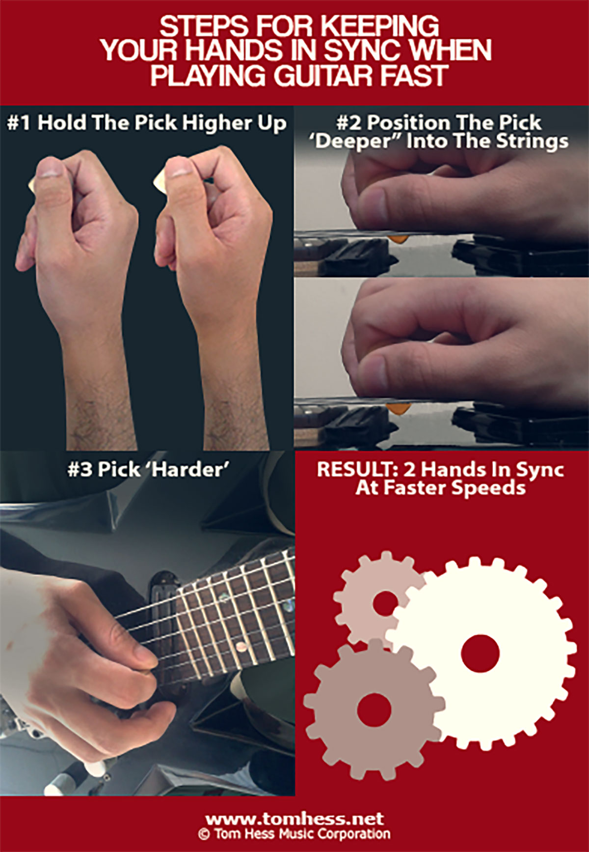 How To Keep Both Hands In Sync While Playing Guitar