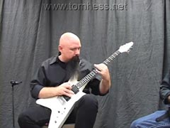 Tom Hess Soloing On Guitar