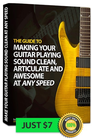 Make Your Guitar Playing Sound Clean