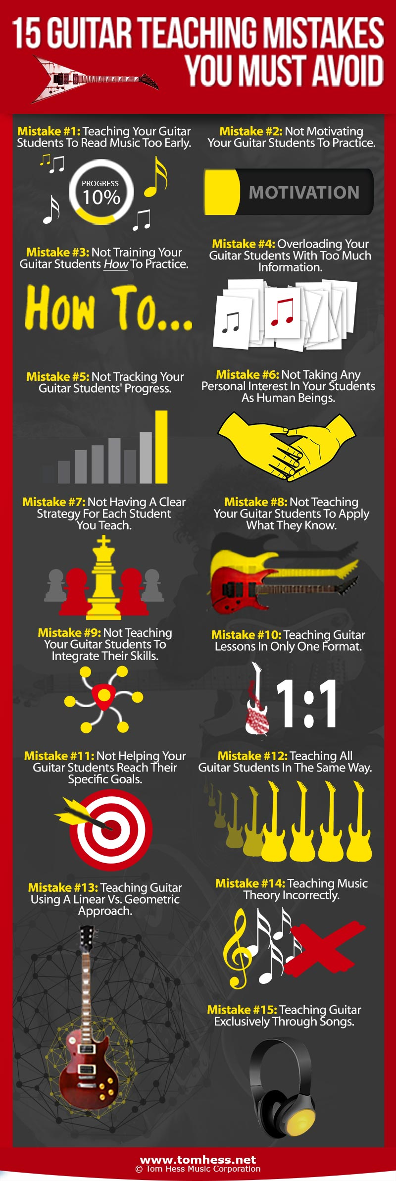 15 Guitar Teaching Mistakes You Must Avoid