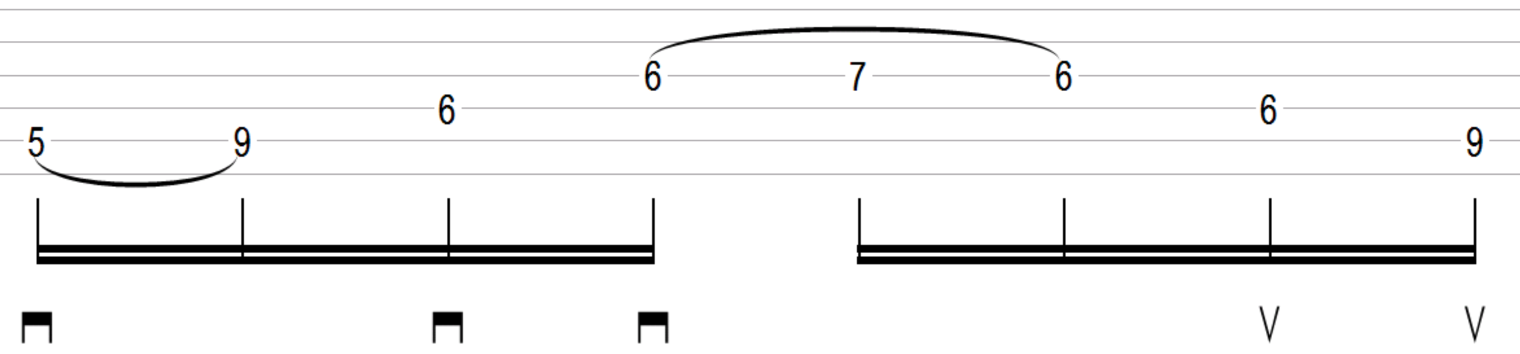 Play D Lydian Sweep Picking Arpeggio