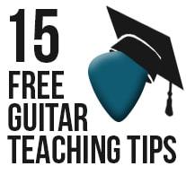 15 Free Guitar Teaching Tips