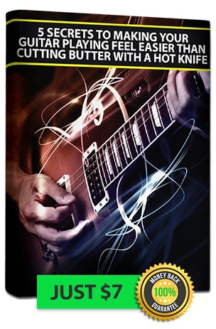 Secrets of effortlessly guitar playing