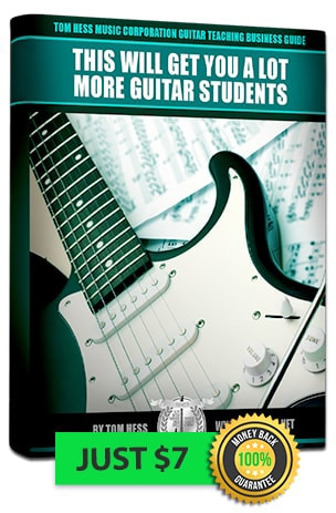 Teaching business guidefor getting more new guitar students
