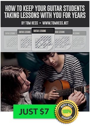 Learn to keep your guitar students longer