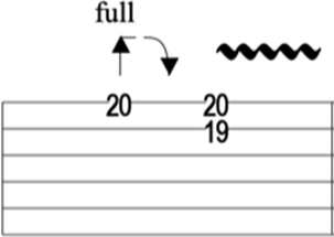 Double stop guitar lick with tritone