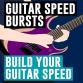 Guitar speed burst exercises