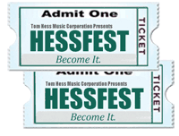Free HESSFEST Ticket For A Friend