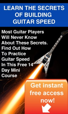 How To Play Guitar Fast - Free 14 Day Guitar Speed Mini Course