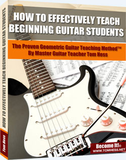 Teach Beginning Guitar Students Book