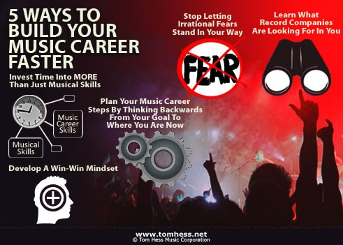 how to build a career in music