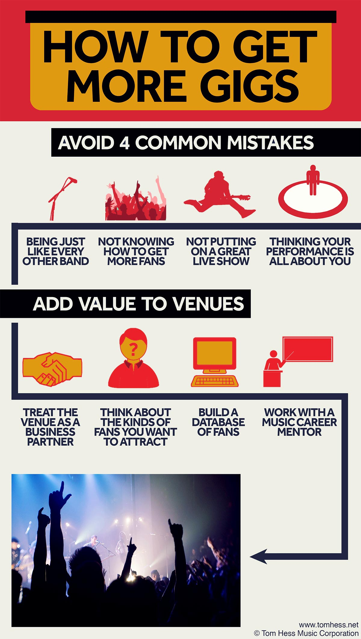 How To Get More Gigs