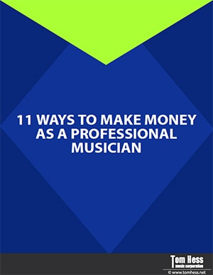 how to make money as a professional musician