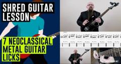 Neoclassical Guitar Licks Video