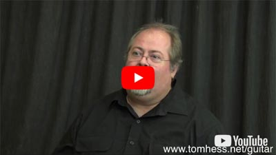 David Schramm Reviews Tom Hess Rock Online Guitar Lessons