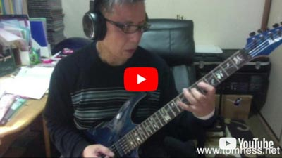 Naoto Yagi Playing Guitar Online Guitar Student Of Tom Hess