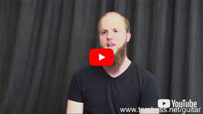 Tom Hess Online Guitar Student Niklas Eskilsson Reviews Online Guitar Lessons