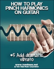 how to add drama to your pinch harmonics