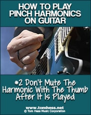 playing pinch harmonics cleanly
