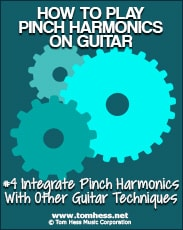 playing better pinch harmonics on guitar