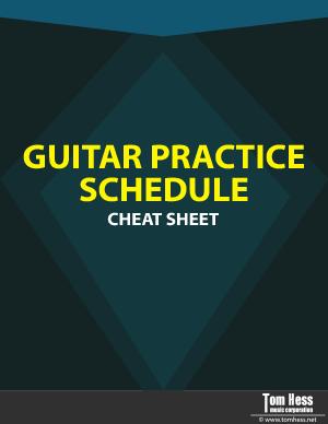 Practice guitar checklist