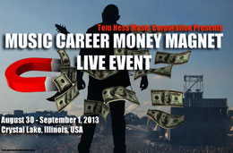 Music Career Money Magnet Event