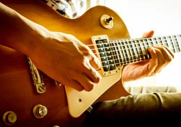 Guitar Playing Photo