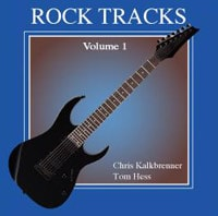 Rock Tracks I Guitar Improvisation CD