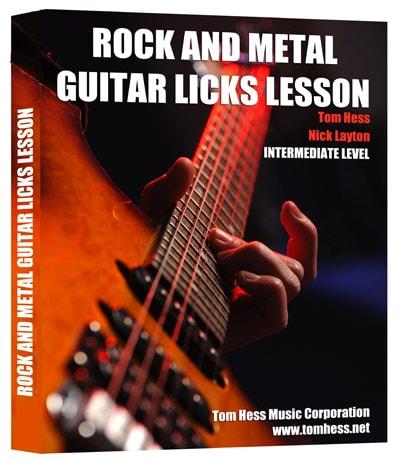Fastforward killer lead lick metal