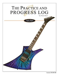 Practice And Progress Log Workbook For Guitarists