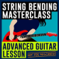 How to play guitar bending licks creatively