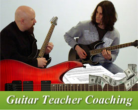 Guitar Teacher Coaching