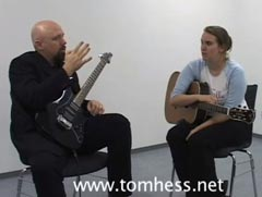 Tom Hess Discussing Chord Progressions