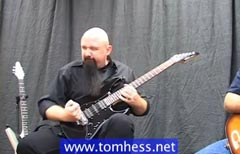 Tom Hess Playing A Double Stop