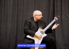 Tom Hess Teaching How To Play Difficult Guitar Licks