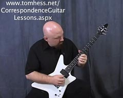 Tom Hess Teaching Speed Guitar