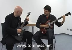 Tom Hess Teaching Guitar Scales